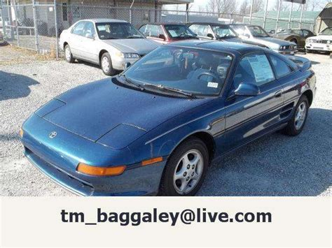 1991 Toyota Mr2 For Sale 1991 Toyota Mr2 Turbo For Sale From Acton Montana Adpost