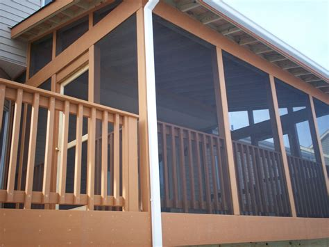 Screen Porch And Deck In St Louis St Louis Decks Screened In Pergola
