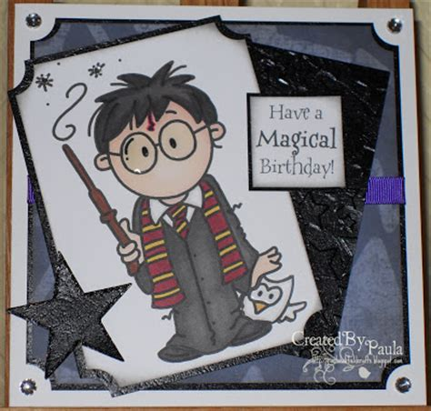 harry potter greeting card templates paulaholifieldcrafts harry potter birthday card