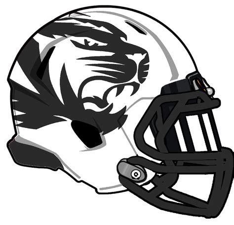 mizzou tiger coloring page college football helmet coloring pages coloring home