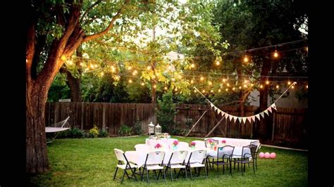 Backyard Outside How To Host An Intimate Backyard Wedding Fashion Week
