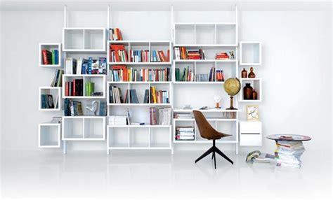 bureau biblioth鑷ue design rangement terre design syst 232 me blanc biblioth 232 ques