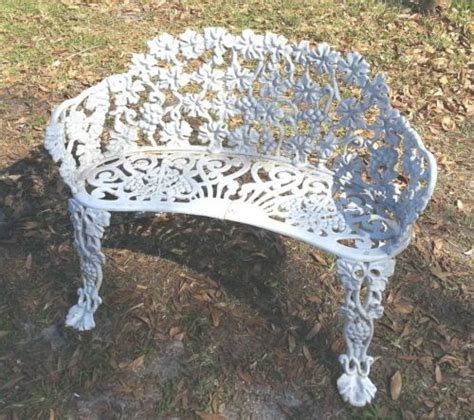 victorian garden bench victorian cast iron garden bench grapes
