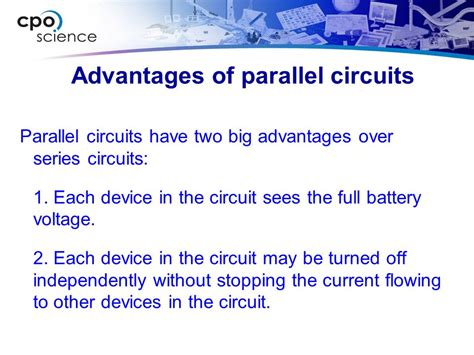 two advantages of connecting resistors in parallel foundations of physics ppt