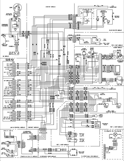sears kenmore refrigerator wiring diagrams circuit and
