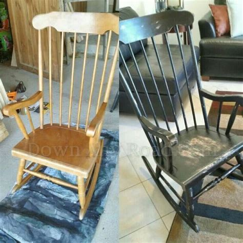 chalk paint rocking chair pin by tammy bearden on craft projects