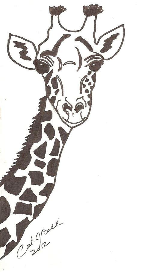 Printable Giraffe Print Stencil Giraffe Templates To Print