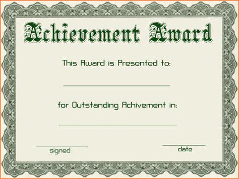 free award certificate templates   Sales Report Template