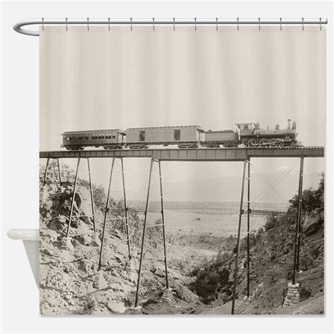 train shower curtain steam locomotive shower curtains steam locomotive fabric