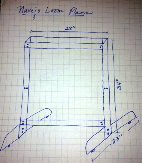 rug weaving loom plans make your own navajo loom plans telares y tapices make your make your own and