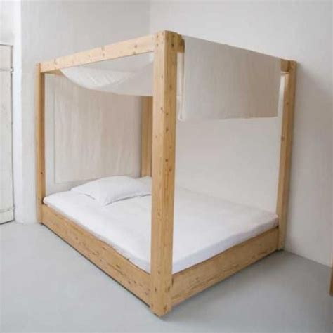 How To Make A Canopy Bed Frame 17 Best Images About Beds On Reclaimed Wood Furniture Antiques And Coastal Bedrooms