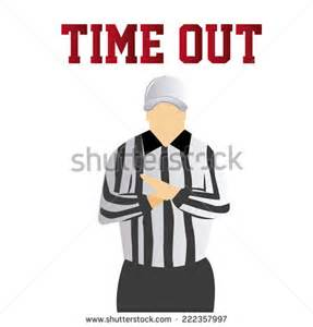 Time Out Time Out Referee Clipart 31