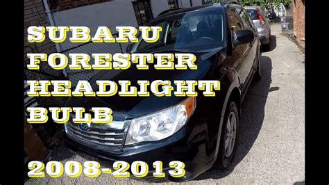 2011 subaru forester headlight bulb how to adjust headlight 2011 subaru forester 2014