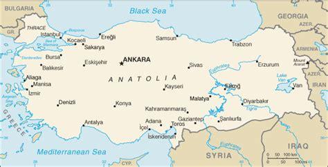 printable turkey map turkey map free printable maps