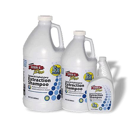 stain  pro carpet upholstery extraction shampoo