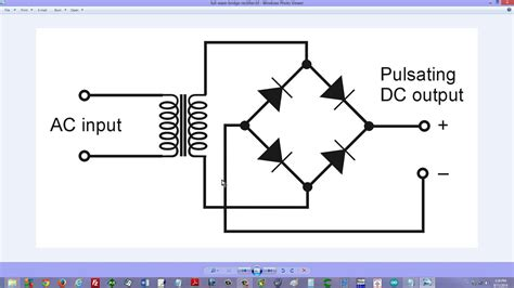 diode bridge rectifier wave bridge rectifier