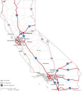 map of california with cities map of california