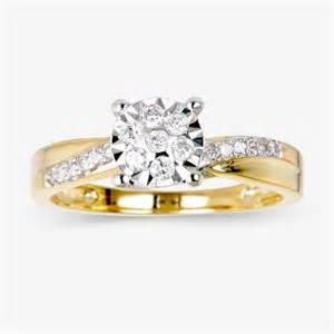 warren wedding rings 9ct gold ring