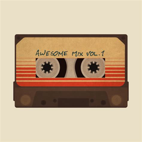Mix Vol 1 awesome mix vol 1 guardians of the galaxy t shirt