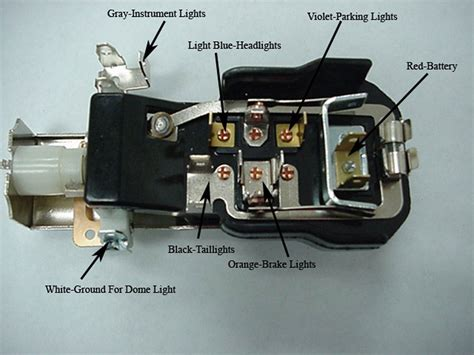 chevy headlight switch 1955 1956