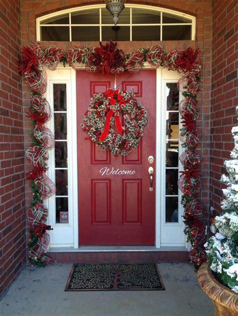 christmas front door garland