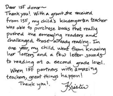 Thank You Letter To Kindergarten From Parents Thank You Quotes For Parents Quotesgram