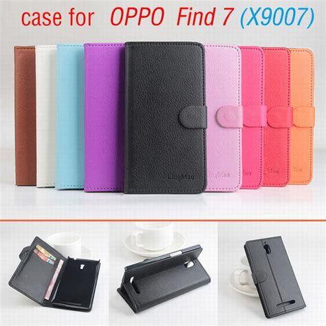 Kalaideng Leather Oppo Find 7 X9007 9 colors classic leather for oppo find 7 7a x9007 flip cover housing with card