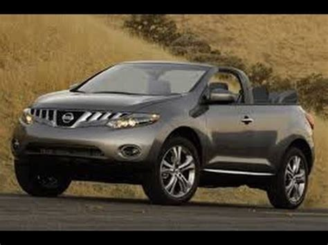 nissan murano crossover cabriolet don t sell your nissan murano cross cabriolet