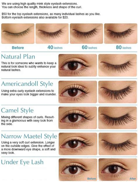 Eyelashes Real Hair 1 eyelash extensions different lengths styling hair extensions