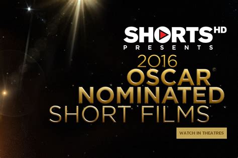 Short Film Oscar Nominees | the oscar nominated short films 2016 heading to theaters