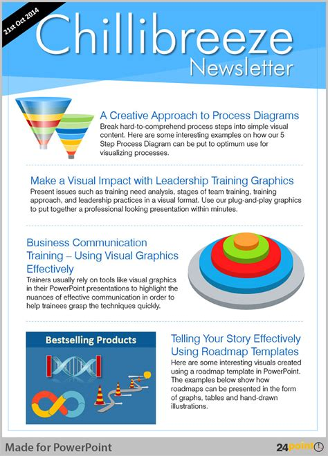 Tips To Use Magazine Cover Page Powerpoint Template Newsletter Template Powerpoint