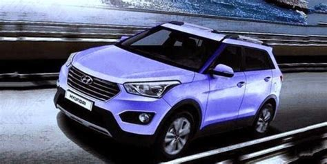 hyundai crossover 2014 2014 hyundai ix25 subcompact crossover first photo leaked
