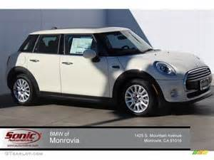White 4 Door Mini Cooper 2015 Pepper White Mini Cooper Hardtop 4 Door 100229778