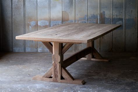 farm tables reclaimed wood farm table woodworking