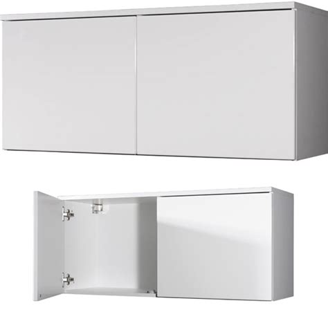 Top Cabinets by Trento 2 Door White High Gloss Top Cabinet 3019 84 11781