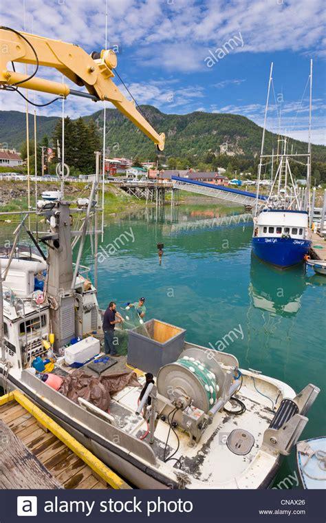 haines alaska fishing boat commercial fishing boat fisherman stock photos