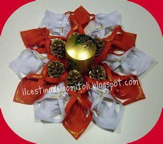 centri tavolo natalizi il cestino dei gomitoli centri tavola natalizi