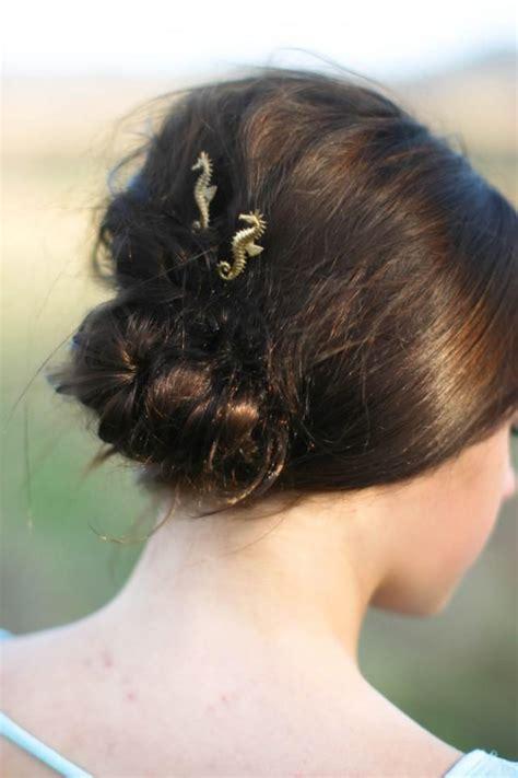 Seahorse Hair Pins, Gold Seahorse Hair Clips, Sea Horse