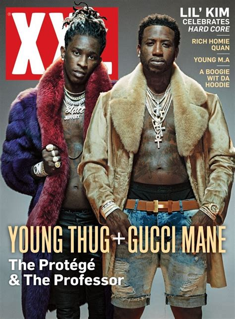 The Other Side Of The Fur Story The Luxurious Necessity by Thug And Gucci Mane Are Decked Out In Fur On Their