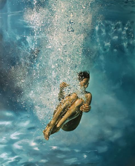 water painting hypnotic paintings of water by eric zener