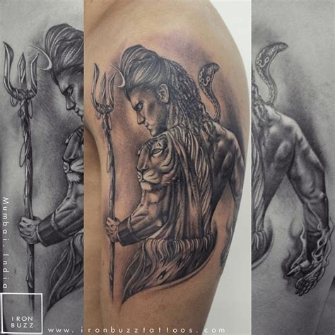 body tattoo of lord shiva lord shiva tattoo the lord is back series by eric jason