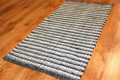 black rag rug rag rugs home black white rag rugs
