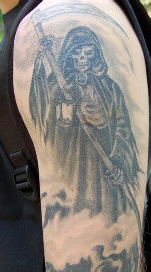 tattoos about death 9 half sleeve tattoos