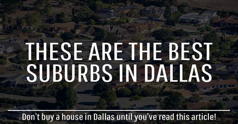best place to buy a house in texas best suburbs in dallas tx top places to live in dfw