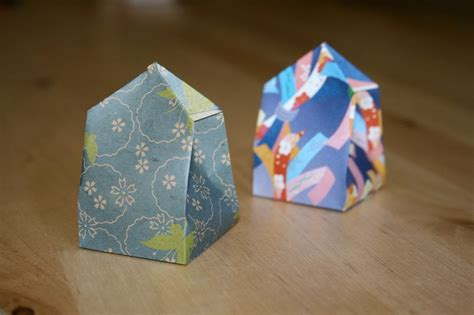 christmas origami gift box youtube