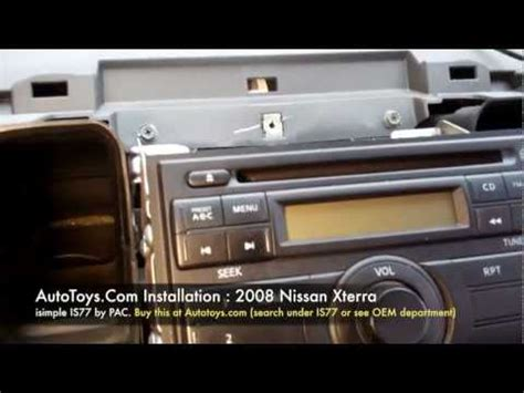 2006 nissan xterra how to remove stereo radio diy dash frontier youtube 2006 nissan xterra how to remove stereo radio diy dash frontier how to save money and do it
