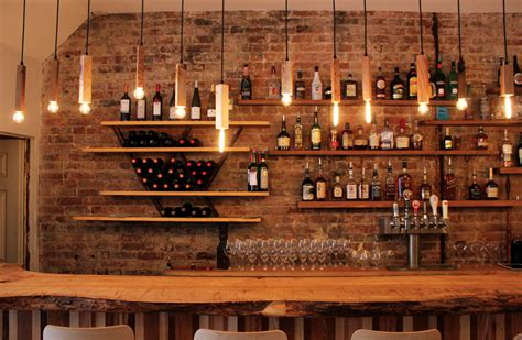 introducing aft kitchen bar bar shelving and bricks