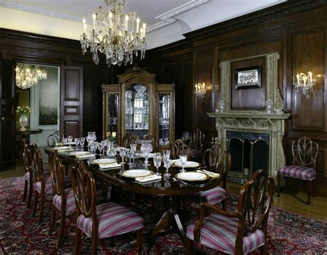 Mansion Dining Room by Old World Gothic And Victorian Interior Design