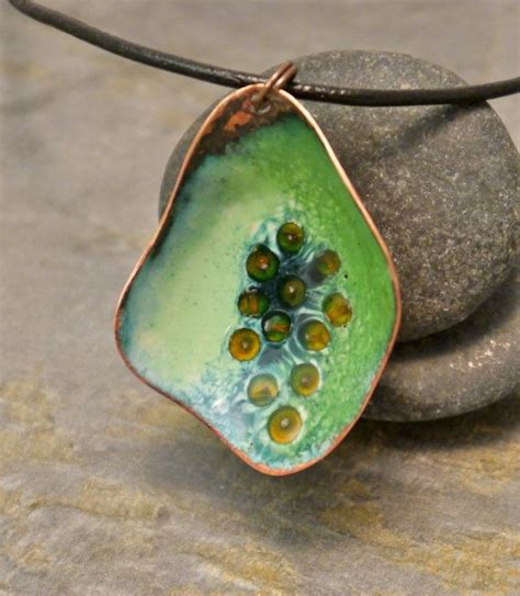Enameled Jewelry Handmade - 17 best images about enamel jewelry on