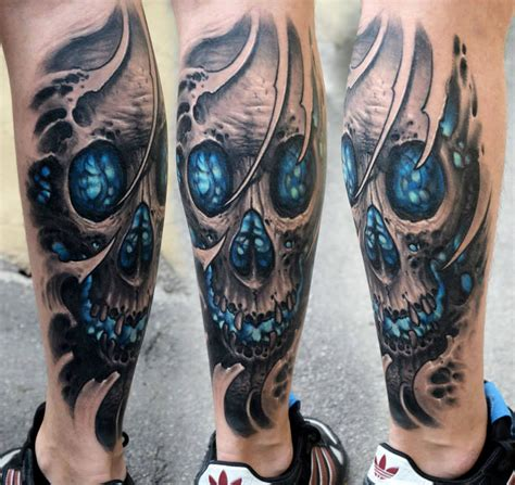 biomechanical tattoos by stepan negur scene360